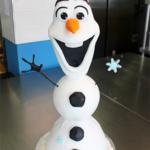 Torta Frozen con Olaf