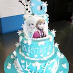 Torta Frozen a piani